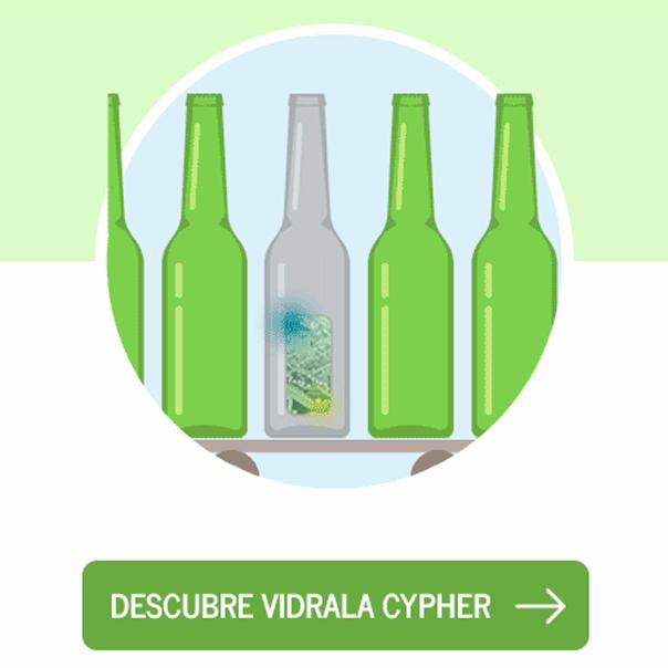 Fabricación y venta de envases, botellas y tarros de vidrio